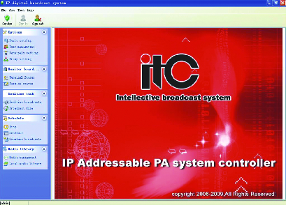 ITC Audio-Public Address System- Audio Video Conference system