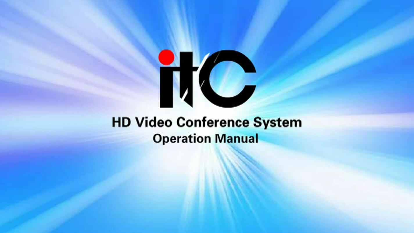 HD video conference system-operation manual .mp4